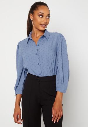 Happy Holly Felicity blouse Dusty blue 32/34