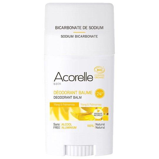 Acorelle Ylang & Palmarosa Deodorant Balm, 40 g
