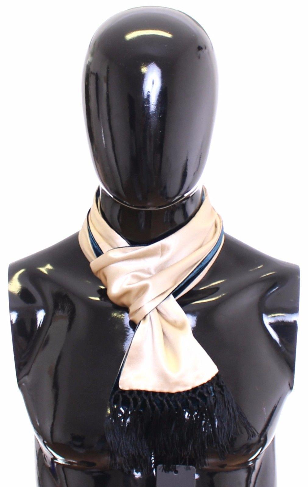Dolce & Gabbana Men's Silk Scarf Beige SCA10104