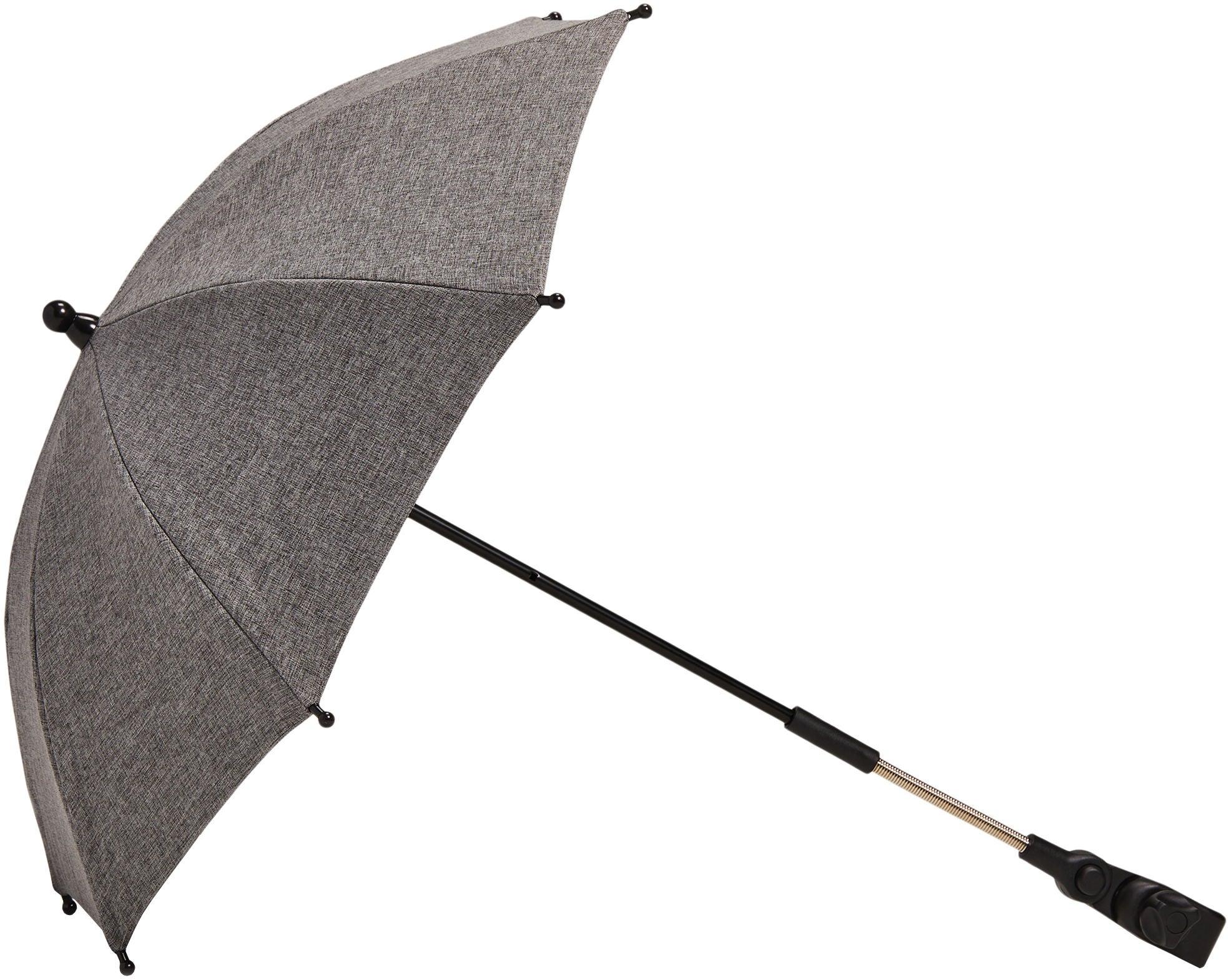 Beemoo Aurinkovarjo Lastenvaunuihin, Grey Melange