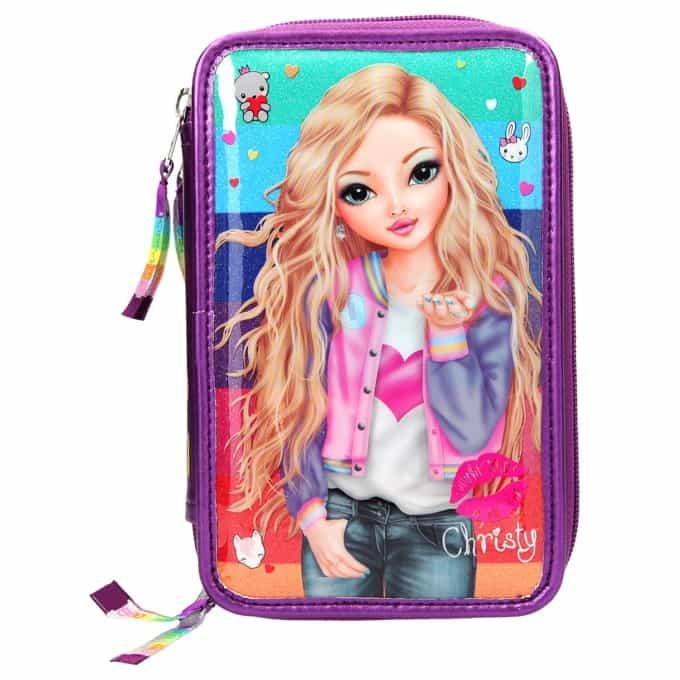 Top Model - Tripple Pencil Case - Friends - Rainbow (0410628)