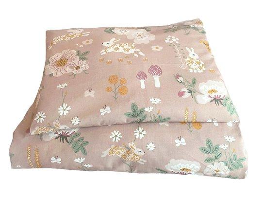 Majvillan Sengesett 100x130 Old Garden, Pink