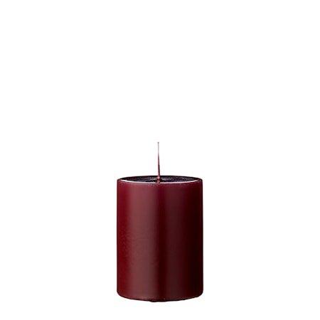 Stearinlys Rød Parafin 7x10cm