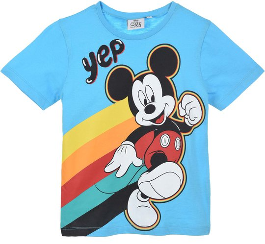 Disney Mikke Mus T-shirt, Blue, 3 År