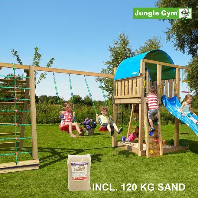 Jungle Gym Villa lektorn komplett inkl. Climb; Klätterställning