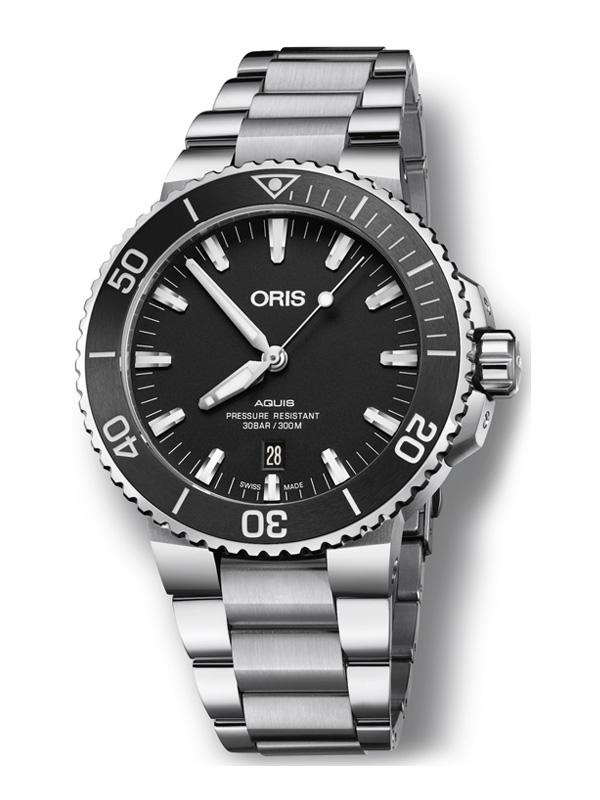 ORIS Aquis Date 43,5mm 733-7730-4154-07-8-24-05PEB