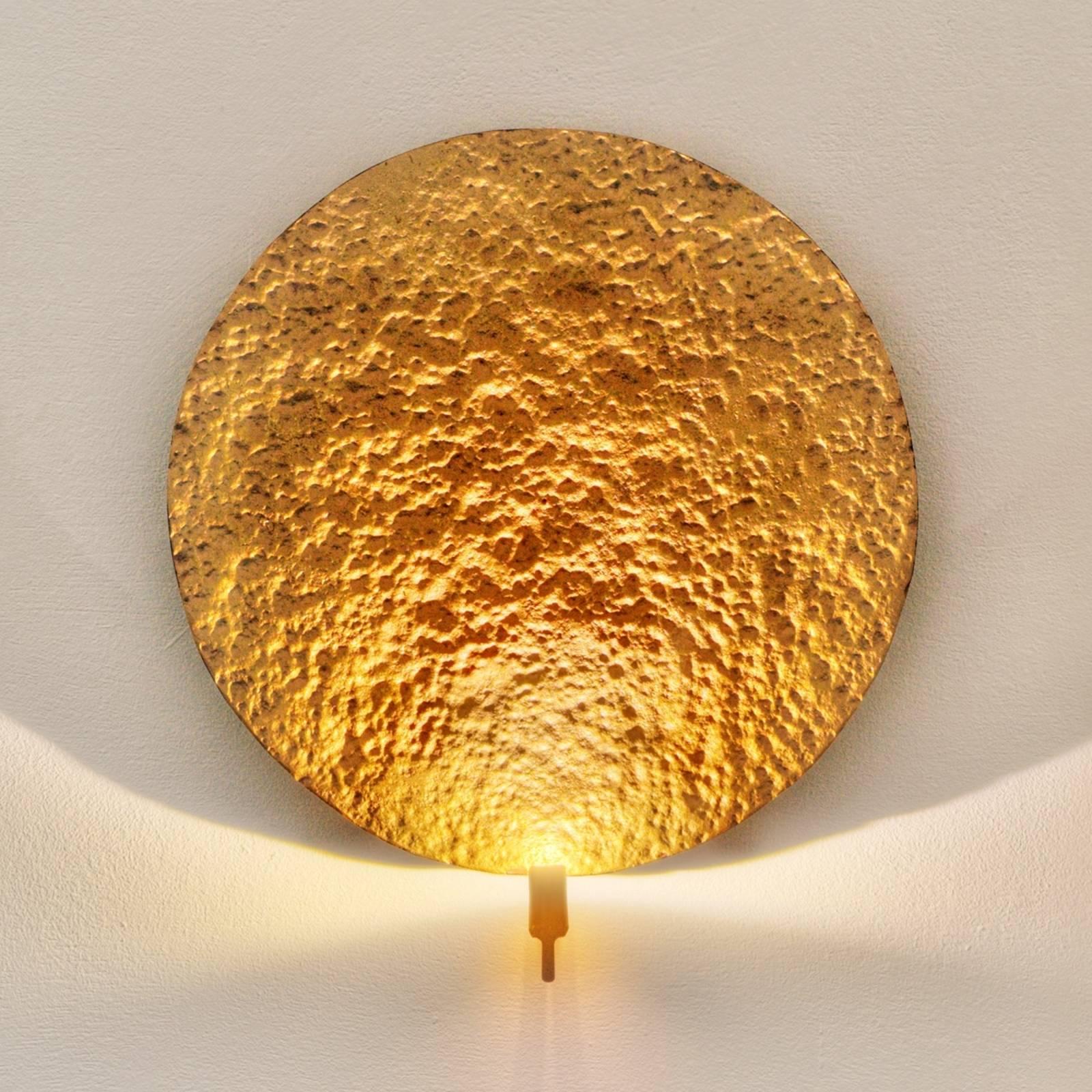 Kullanvärinen design-LED-seinävalaisin Traversa