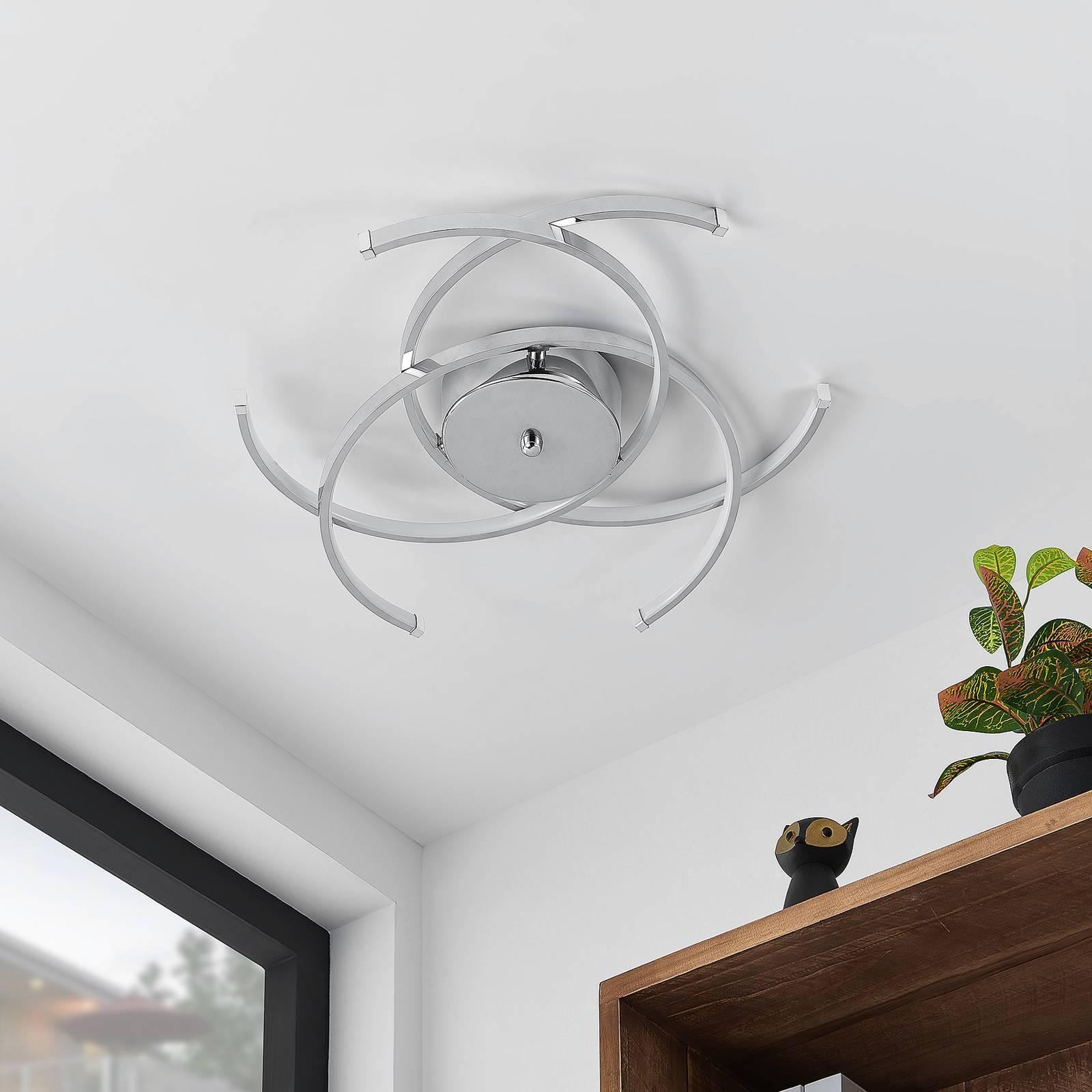 Lindby Omnika -LED-kattovalaisin