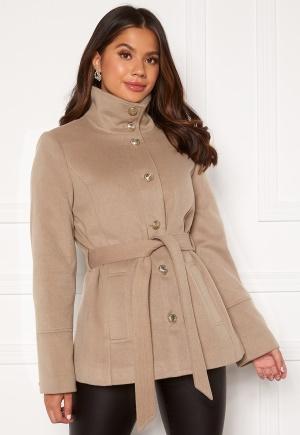 Chiara Forthi Marion Short Coat Nougat 44