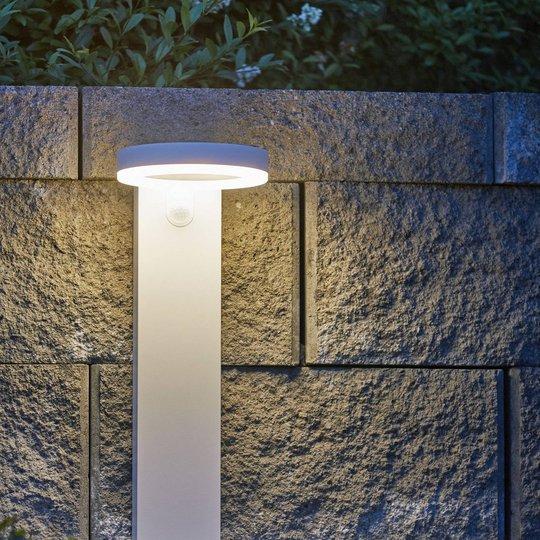 LED-sol-vegglampe Vidi med bevegelsessensor
