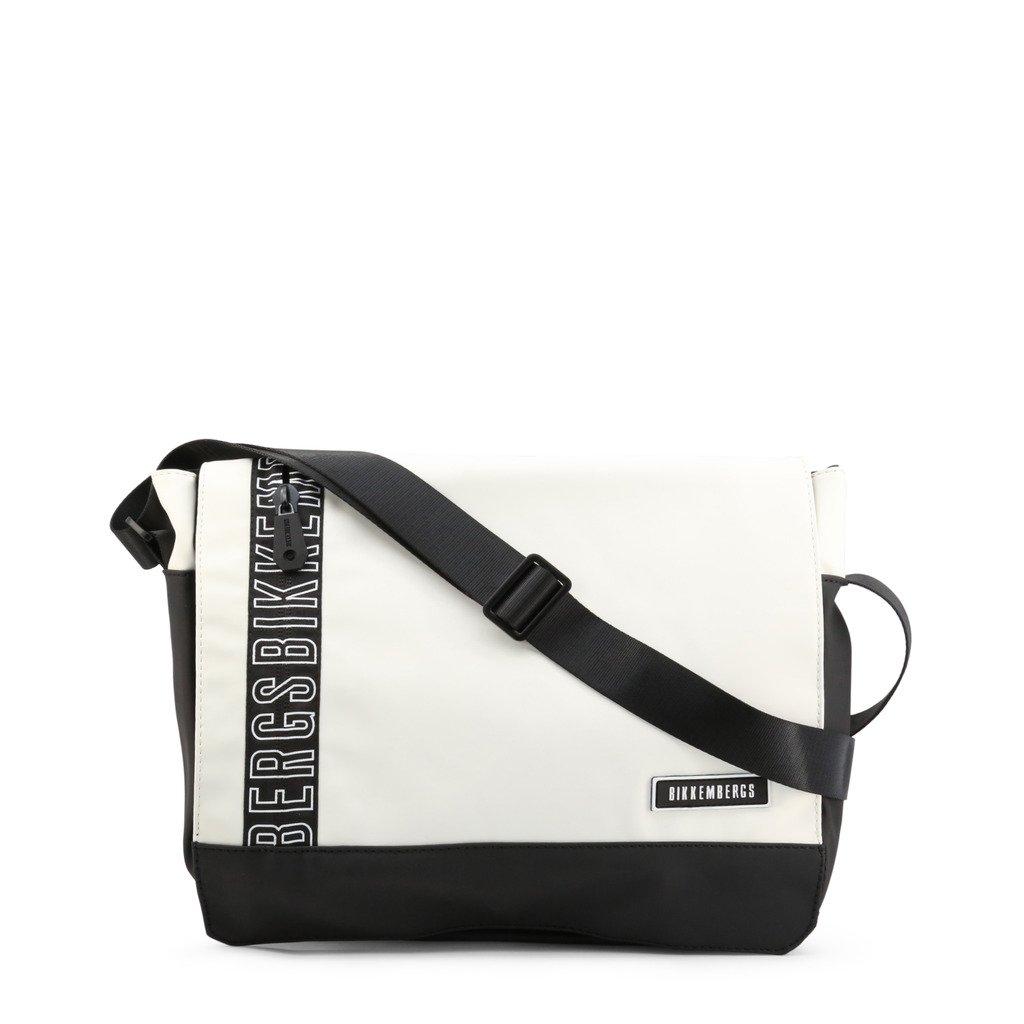 Bikkembergs Men's Briefcase Various Colours E2APME170052 - white NOSIZE