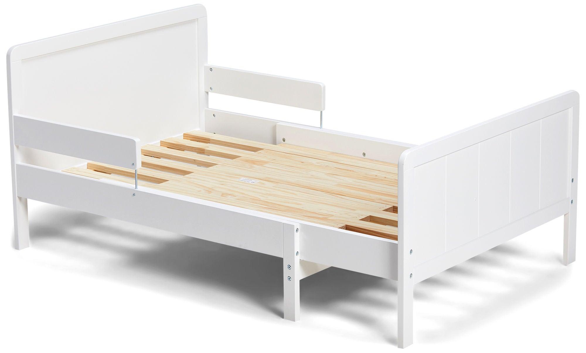 JLY Basic Jatkettava Sänky 80x200, Valkoinen
