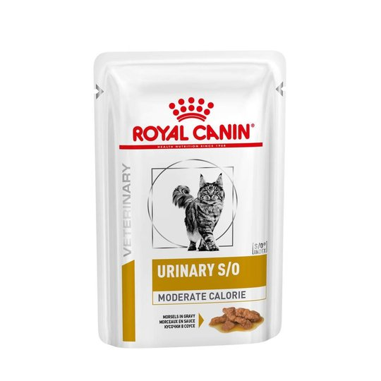 Royal Canin Veterinary Diets Cat Urinary Moderate Calorie 12x85 g