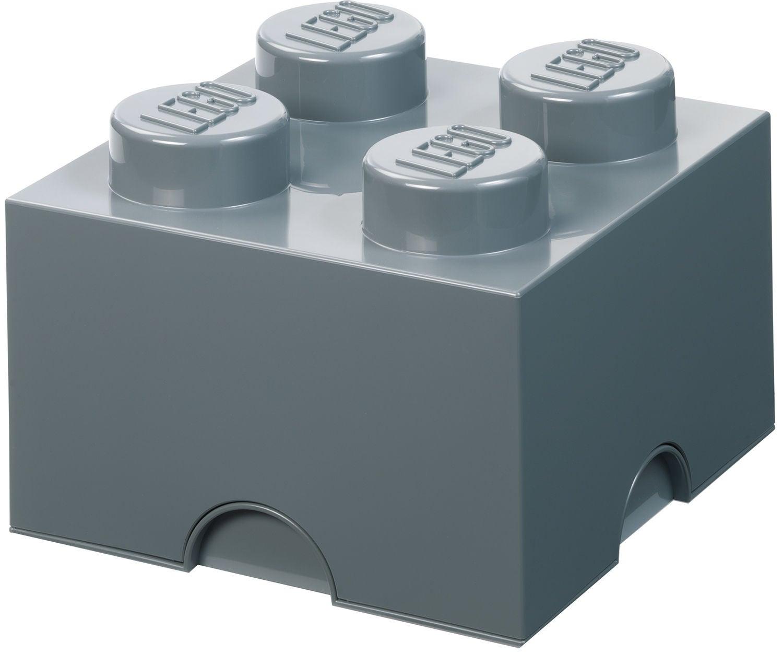 LEGO Säilytyslaatikko 4, Dark Grey