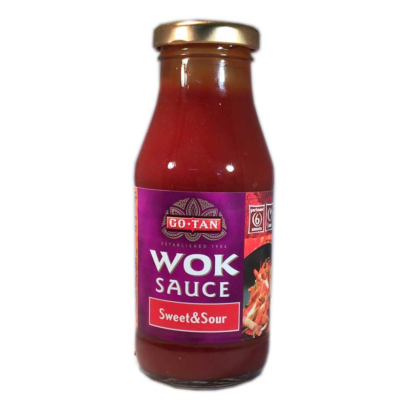 "Wok-kastike, ""Sweet & Sour"" 240 ml - 32% alennus"