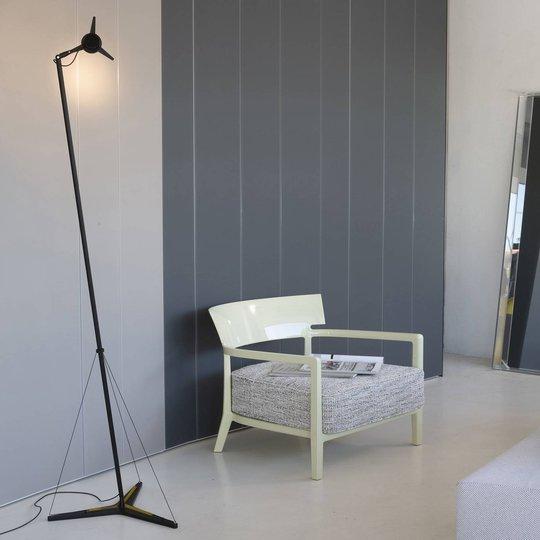 Martinelli Luce Y3 LED-gulvlampe, svart