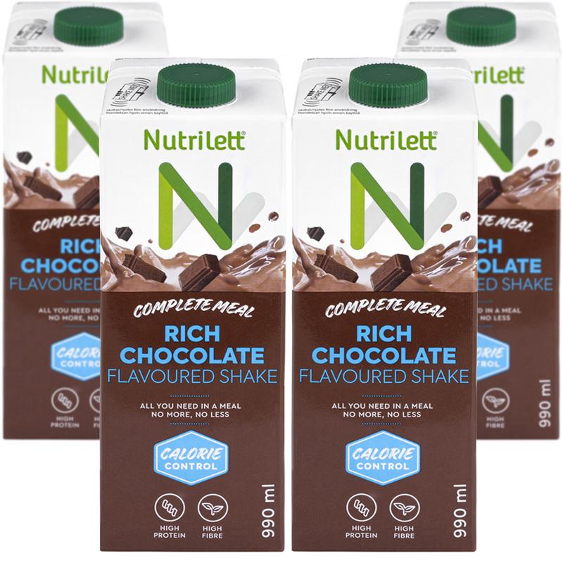 Måltidsersättning Choklad 4-pack - 67% rabatt