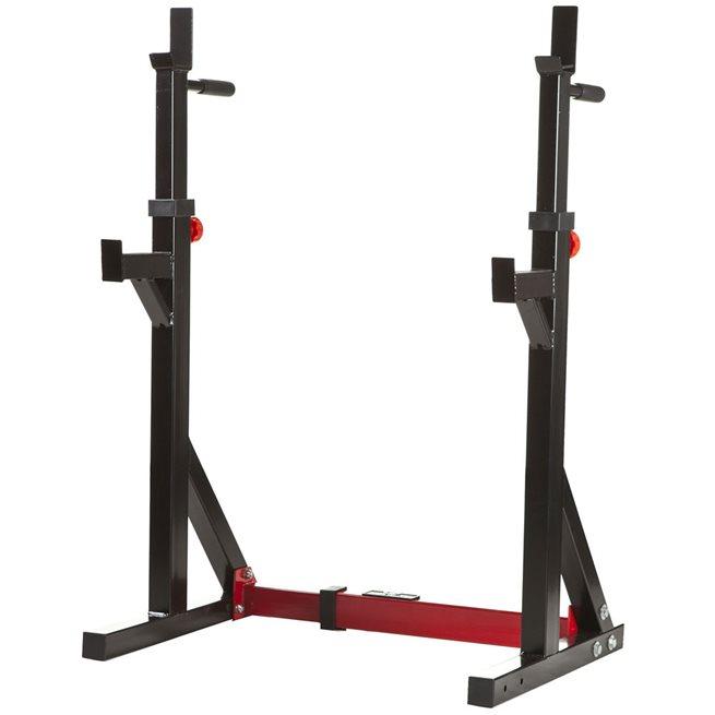 Nordic Fighter Squat Rack / Dip Stand, Skivstångsställning