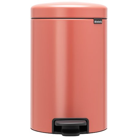 NewIcon Pedalbøtte Terracotta Pink 12 liter