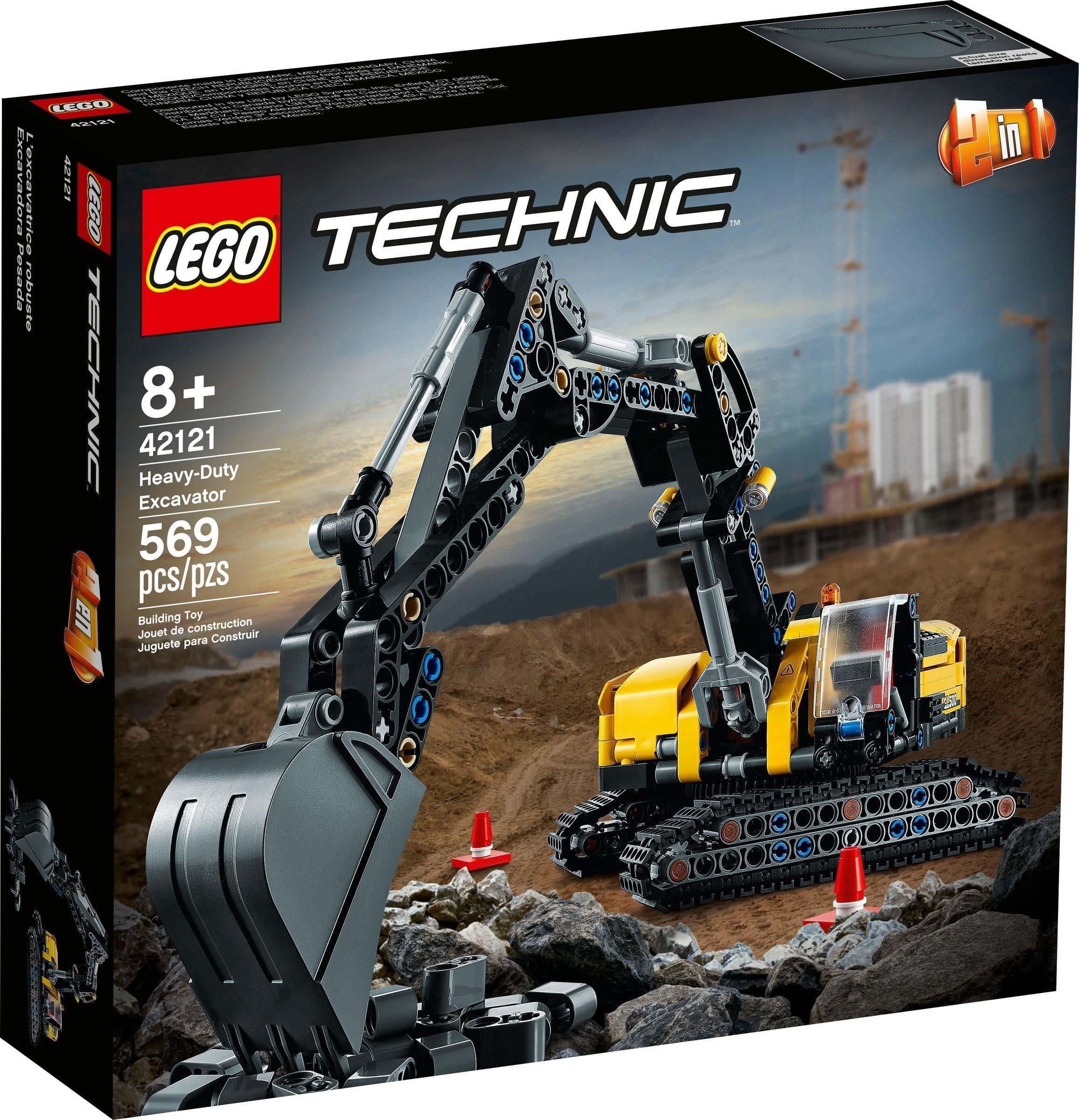 LEGO Technic - Heavy-Duty Excavator (42121)