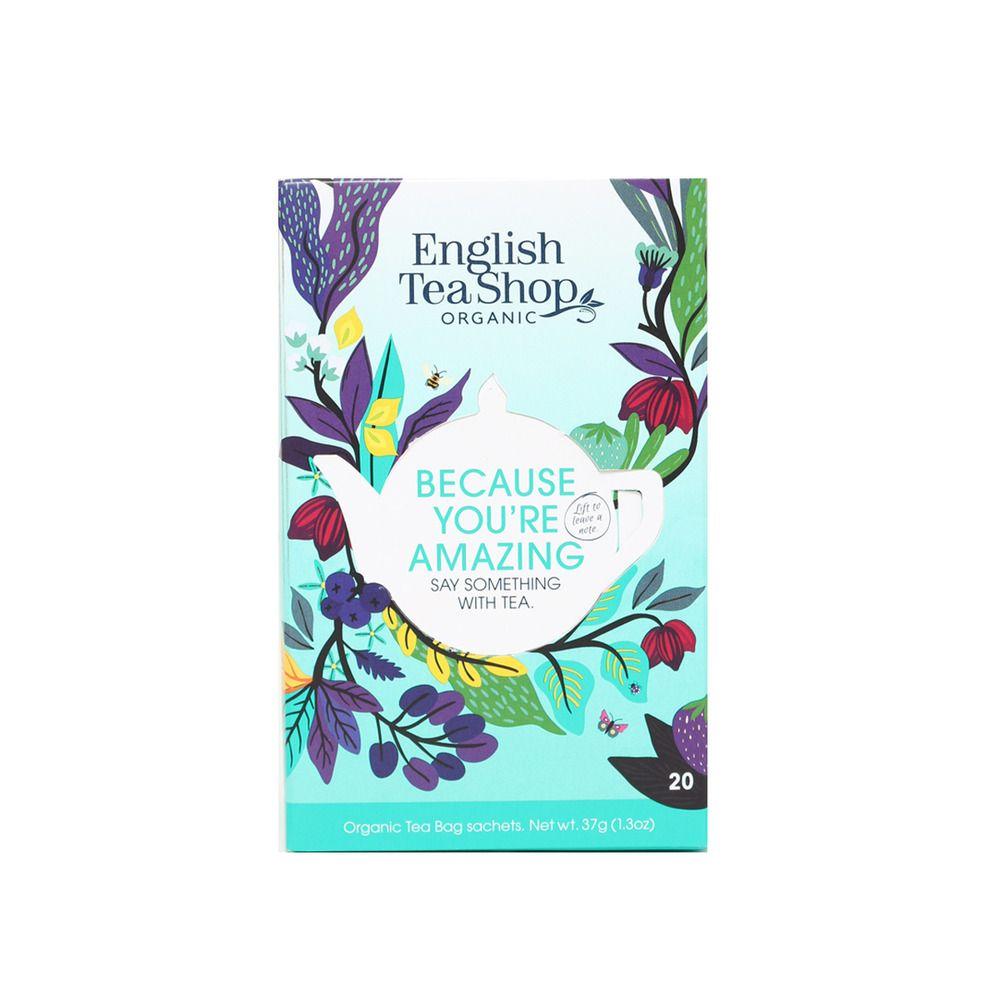 English Tea Shop Ask Because You're Amazing EKO