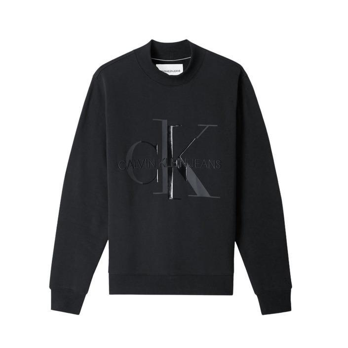 Calvin Klein Jeans Men's Sweatshirt Black 185234 - black XS