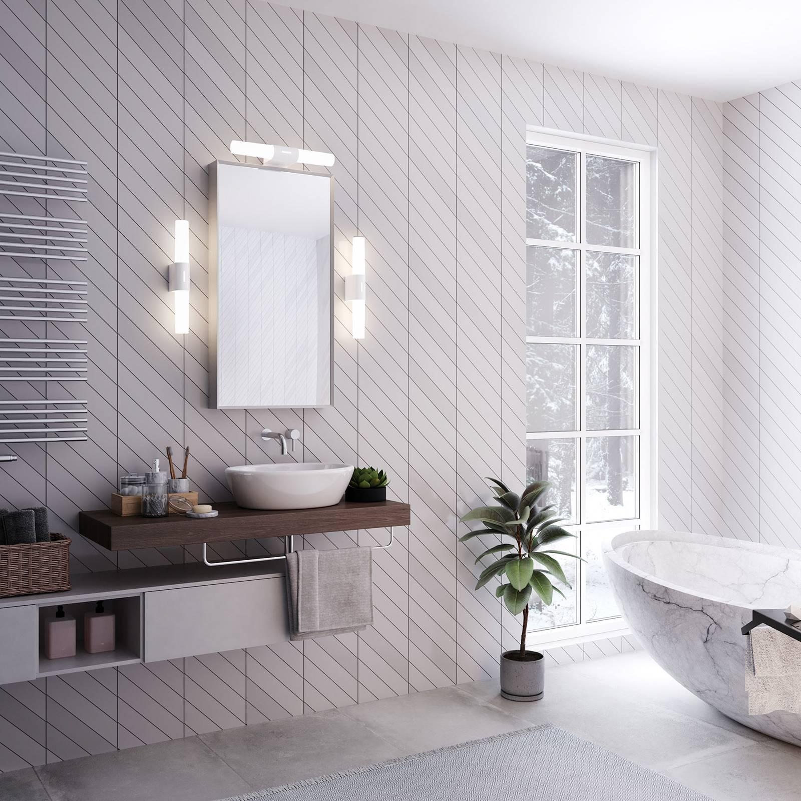 Kylpyhuoneen LED-seinälamppu Helva Double Basic