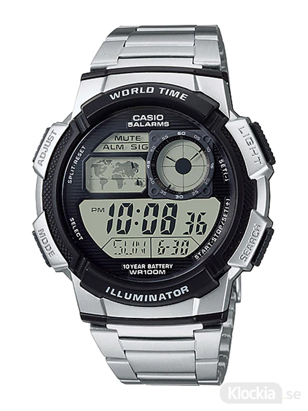 CASIO Collection World Time AE-1000WD-1AVEF
