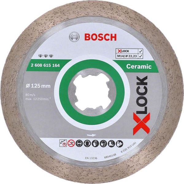 Bosch Best for Ceramic Diamantkappskive X-LOCK 110 × 22,23 × 1,8 × 10 mm