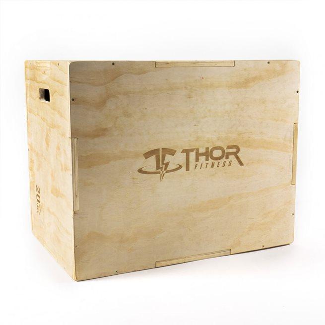 Thor Fitness Plyometric Wooden Box Small, Plyo Box