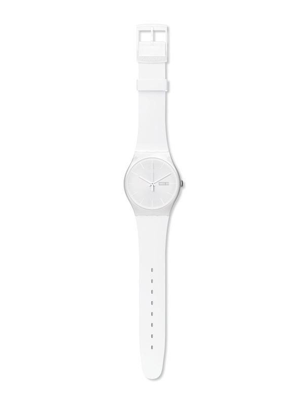 Swatch Originals New Gent, White Rebel SUOW701