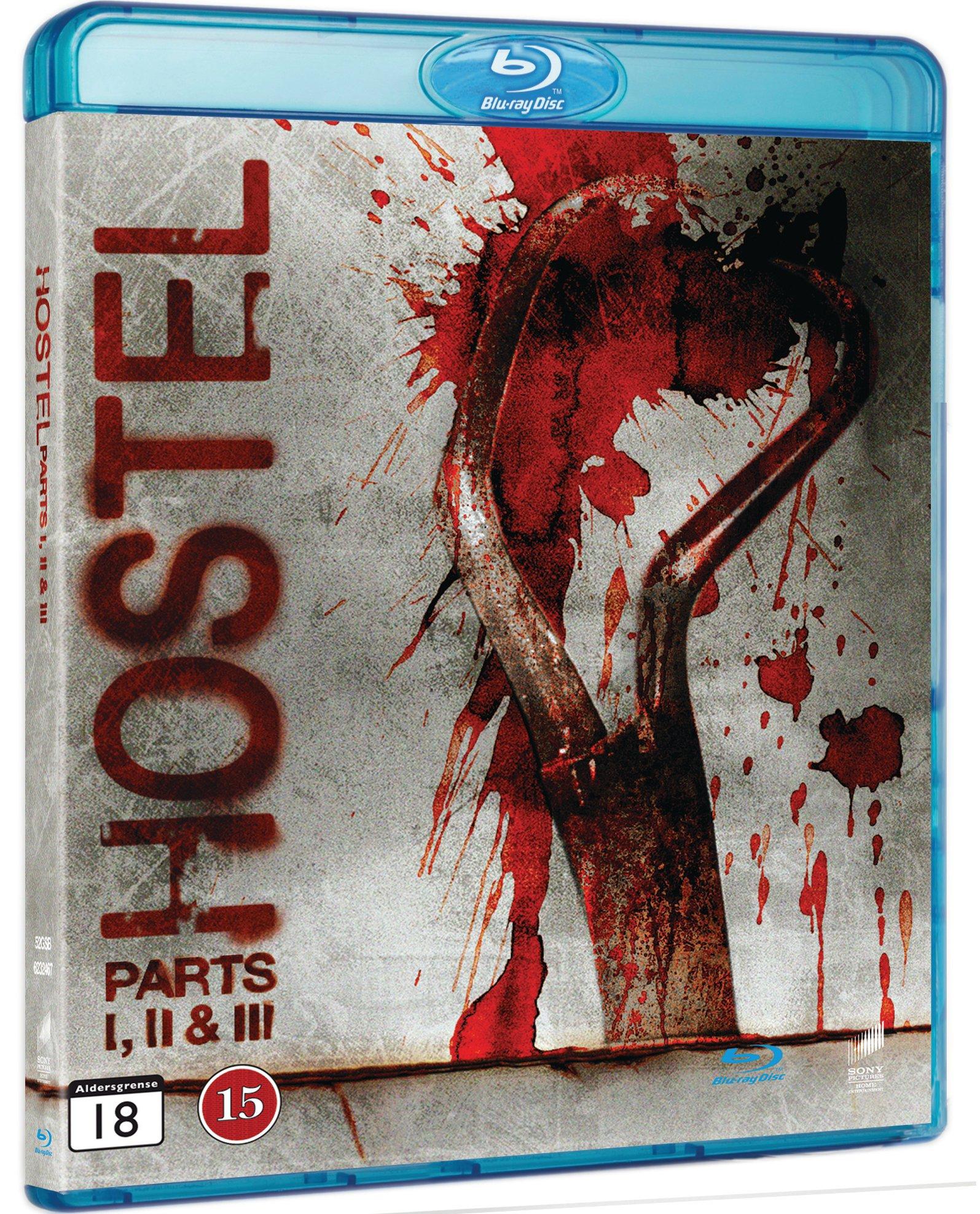 Hostel Part I-III - Blu ray