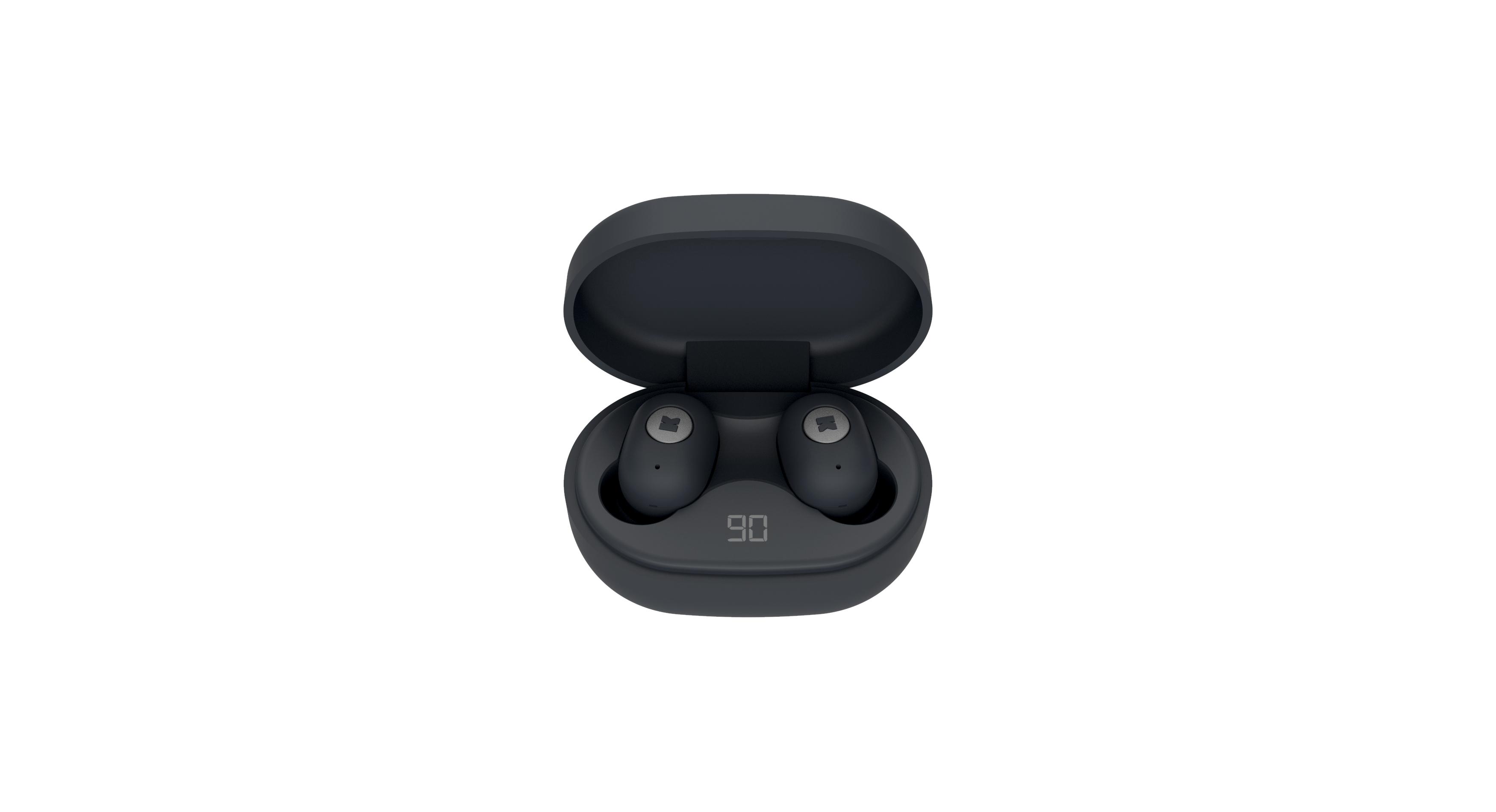 KreaFunk - aBEAN In-Ear Bluetooth Headphones - Black Edition (KFLP10)