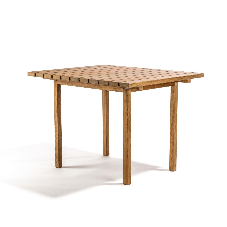 Djurö matbord teak 100 x 85 cm, Skargaarden