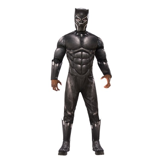 Black Panther Deluxe Maskeraddräkt - Standard