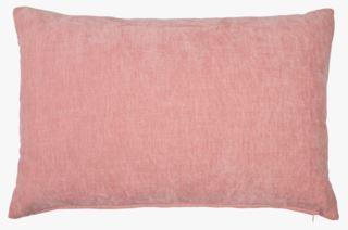 Carlo chenille koristetyyny utuinen vaaleanpunainen
