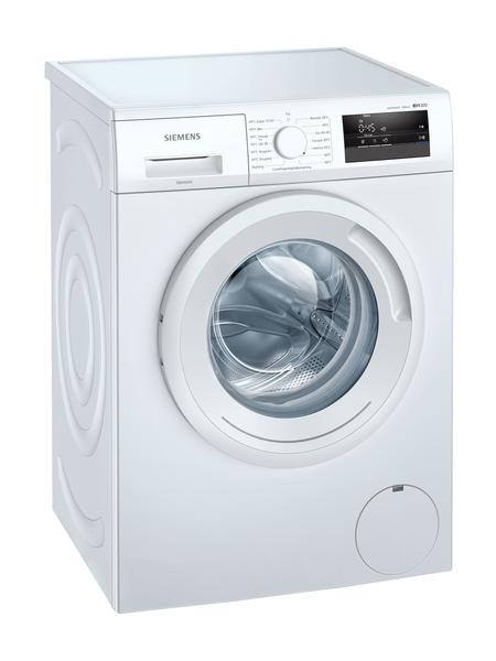 Siemens Wm14n02ldn Iq300 Tvättmaskin - Vit