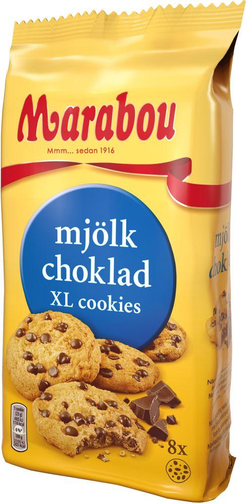 Marabou XL Cookies Mjölkchoklad 184g