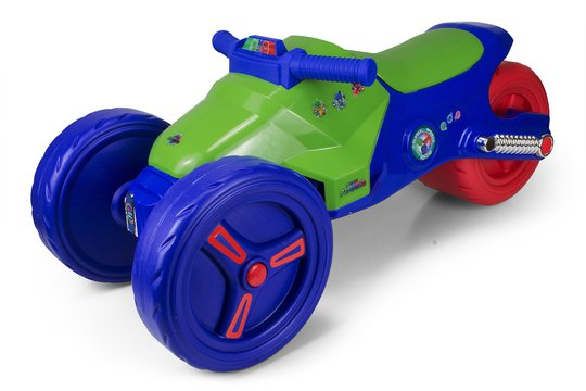 Pysj-heltene Trehjuling Ride On