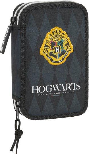 Harry Potter Hogwarts Pennal Dobbel, Grey