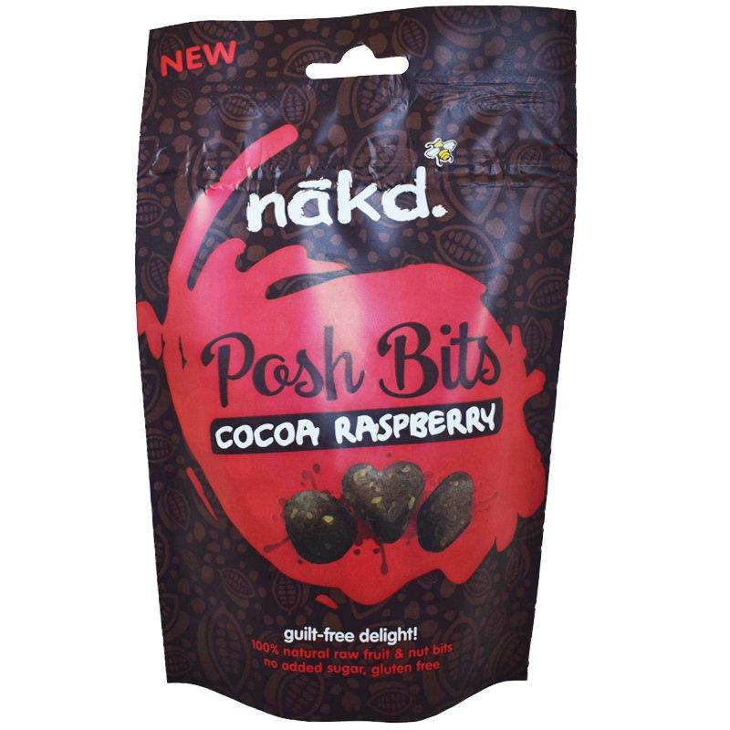 """Pähkinäraakapalasia """"Cocoa Raspberry"""" 130g - -31% alennus"""
