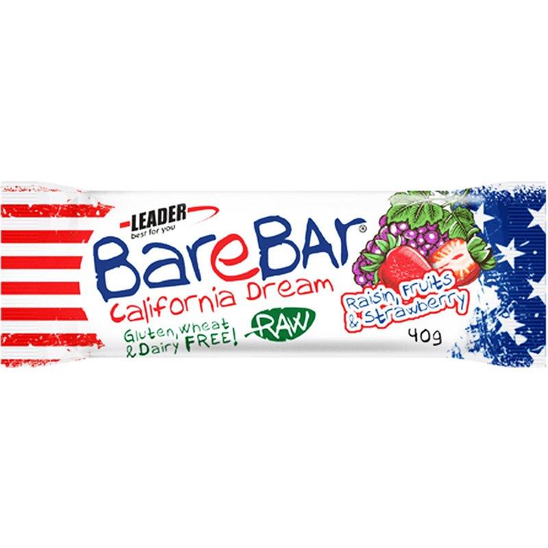 "Dadelbar ""Raisin, Fruit & Strawberry"" 40g - 69% rabatt"