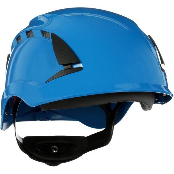 3M SecureFit X5503V Suojakypärä Ilmastoitu Sininen