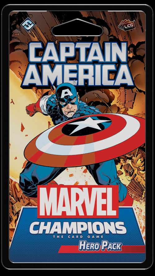 Marvel Champions - Captain America Hero Pack (FMC04EN)