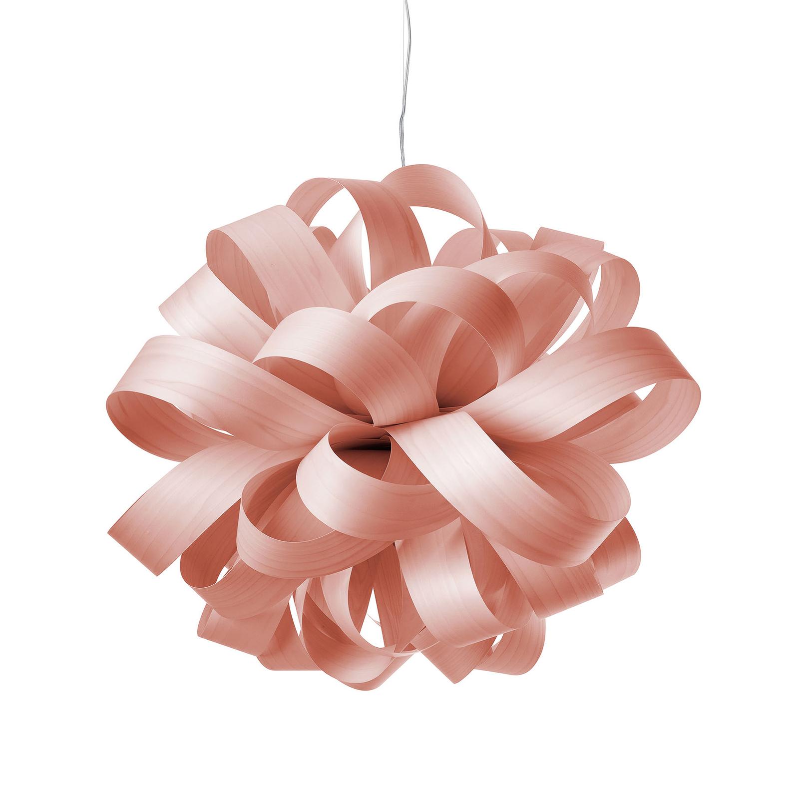 LZF Agatha Ball -riippuvalo, 84x80cm, roosa