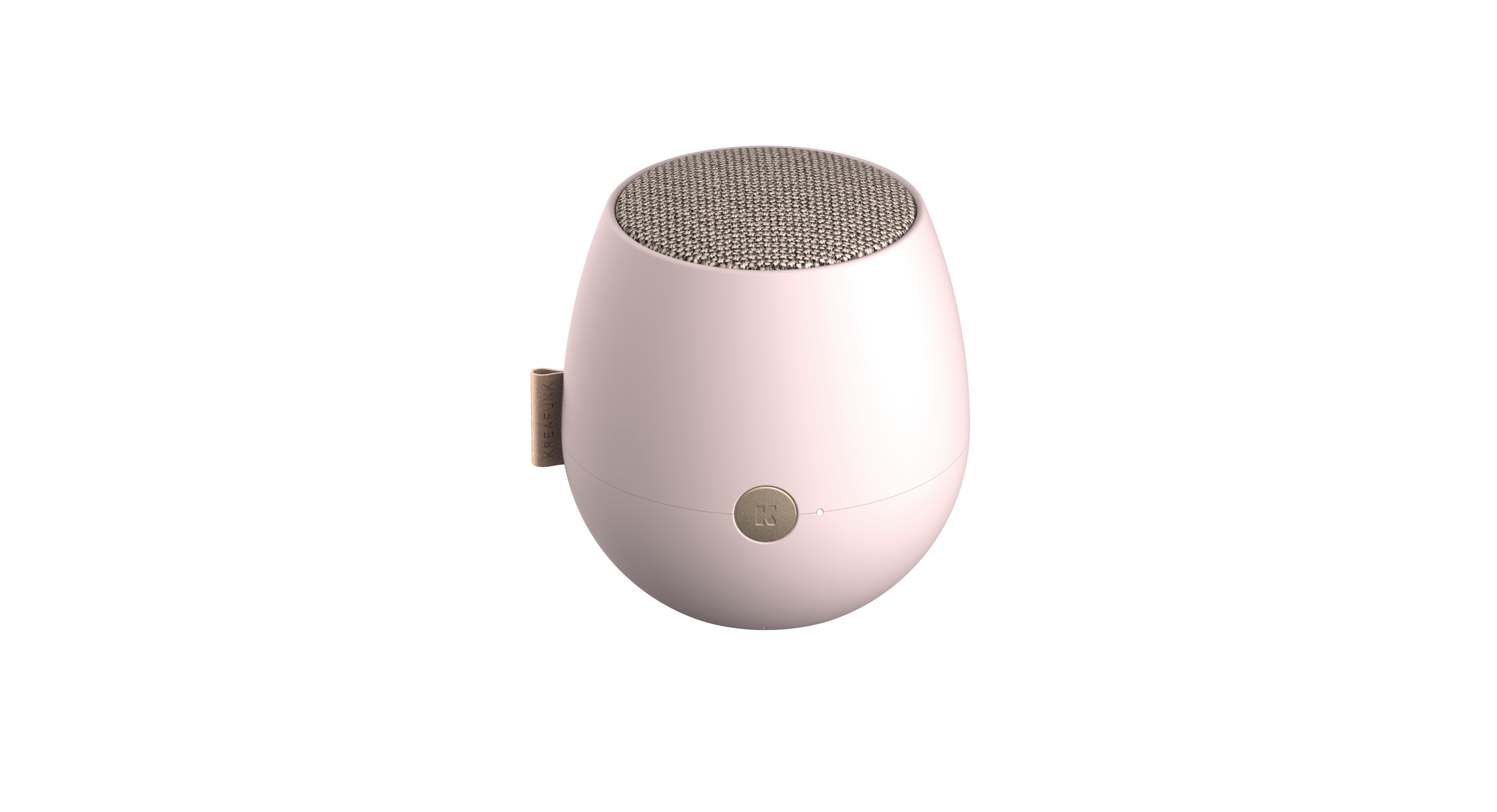 Kreafunk - aJAZZ Bluetooth Speaker - Dusty Pink (KFWT63)