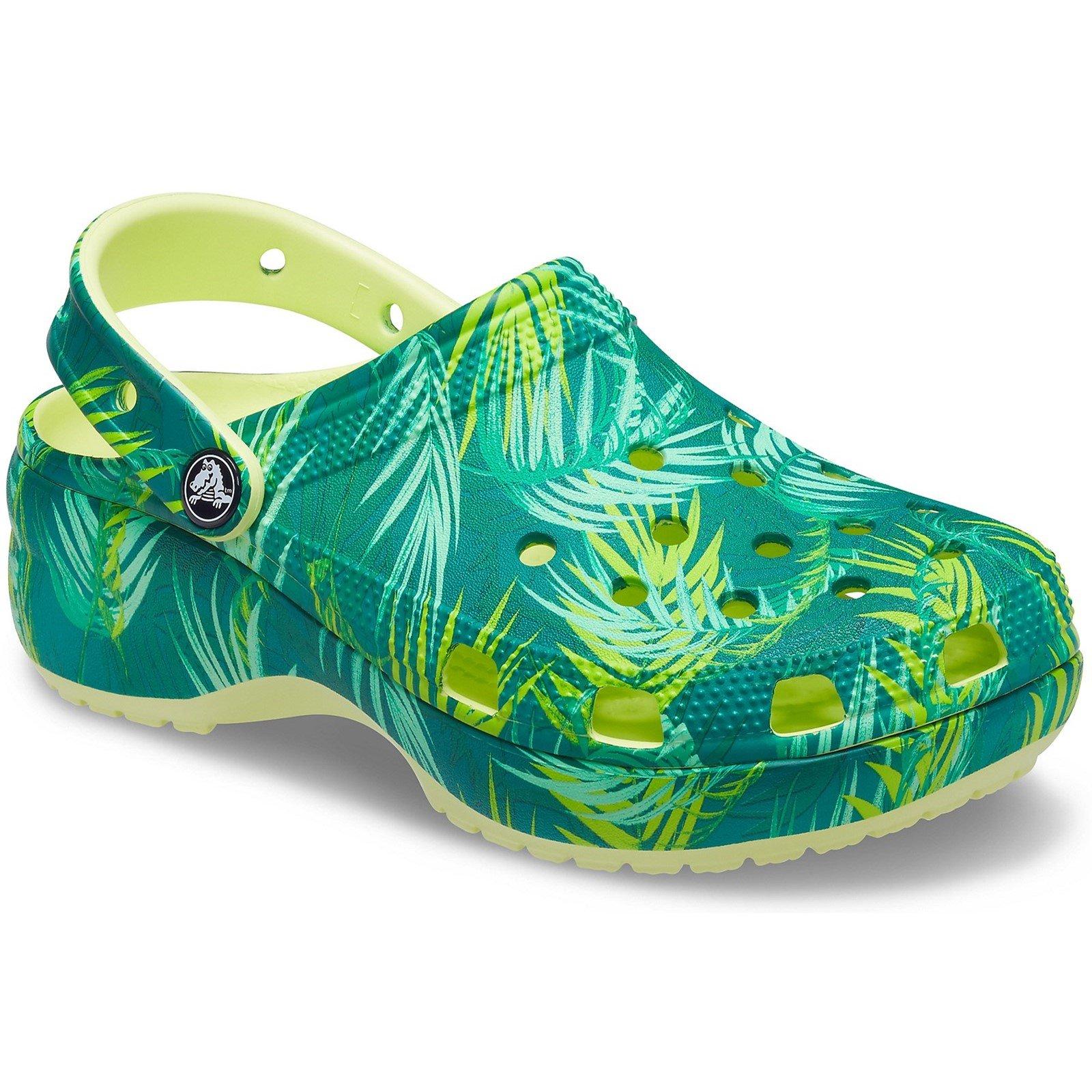 Crocs Women's Platform Tropical Beach Clog Multicolor 32723-55891 - Multi 3