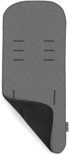 Inovi Memory Foam Sittepute Vendbar, Black/Grey Melange