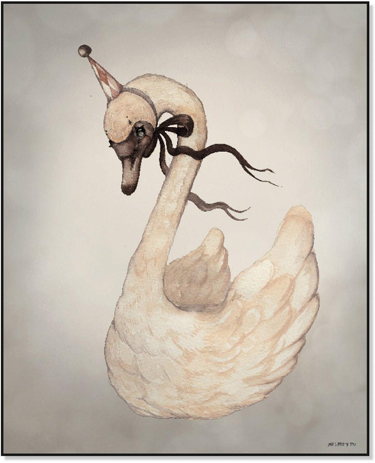 Mrs Mighetto Juliste Dear Swan 40x50