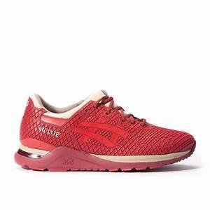 ASICS Men's Gel Lyte Evo Burgundy Tango Red 8718833440024 - 3 UK Red
